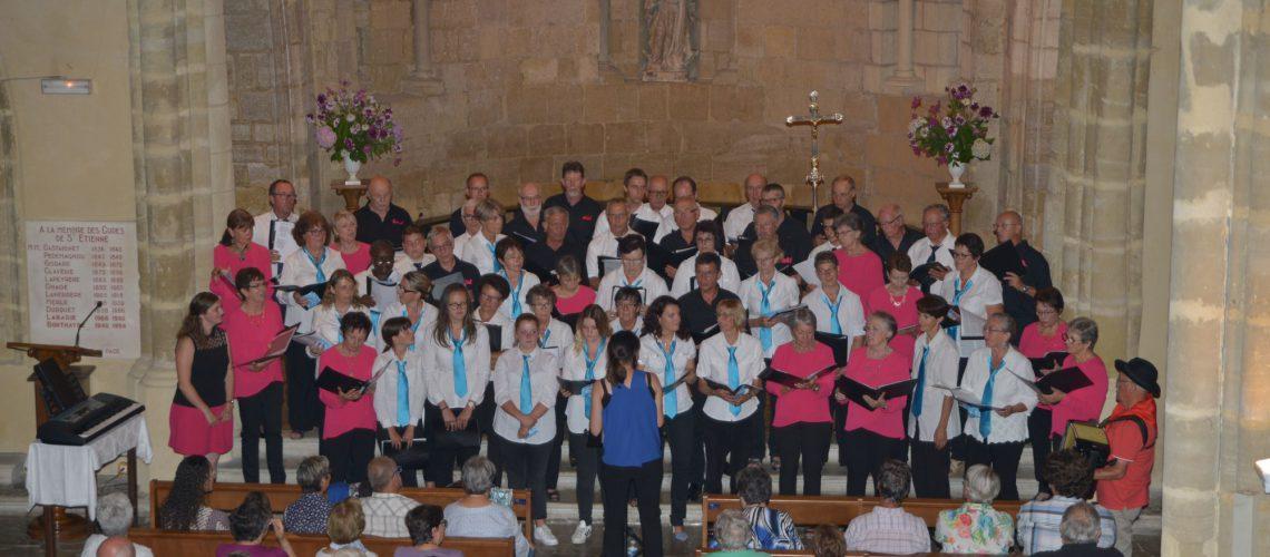 Concert du 26/08/17 partagé avec le Souffle du Par d'Auvergne